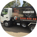 Check out the awesome signage on our brand new rubbish removal trucks!