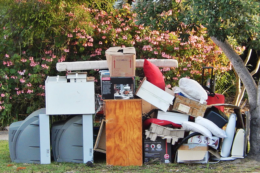 Rubbish Removal over council cleanup