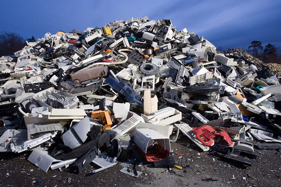 Dump Electrical Waste